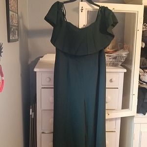 Deep green Jumpsuit